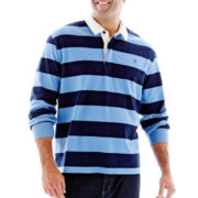 IZOD® Rugby Polo Shirt-Big & Tall