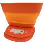 Escali® Pop Collapsible Bowl Digital Food Scale