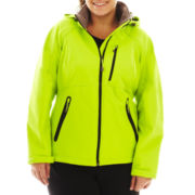 Xersion™ Hooded Classic-Fit Softshell Jacket - Plus