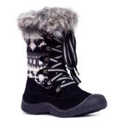 MUK LUKS® Gwen Faux-Fur Womens Boots