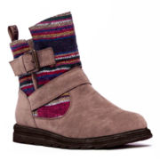 MUK LUKS® Laura Womens Short Boots