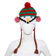 Holiday Whimsy Snowman Hat