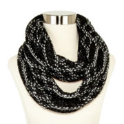Olsenboye® Diamond-Print Loop Scarf