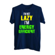 Not Lazy Graphic Tee