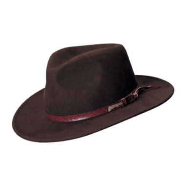 jcpenney.com | Indiana Jones™ Wool Felt Outback Brim Hat