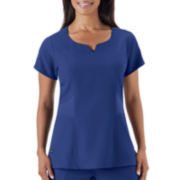 Jockey® 2-Pocket Tri-Blend Scrub Top