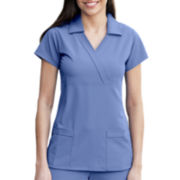 Jockey® 3-Pocket Collared Scrub Top