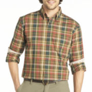 Arrow® Long-Sleeve Madras Plaid Shirt