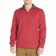 Arrow® Sueded Quarter-Zip Fleece Pullover