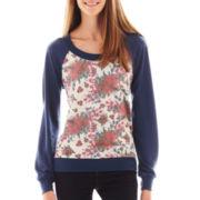 Self Esteem Print Sweatshirt