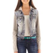 Wallflower Fleece Denim Jacket