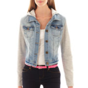 Wallflower Fleece Denim Jacket