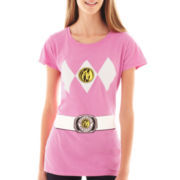 Short-Sleeve Power Ranger Graphic Tee
