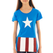 Short-Sleeve Captain America Tee