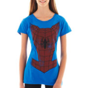 Short-Sleeve Spiderman Tee