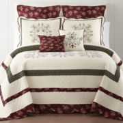Home Expressions™ Amber Rose Bedspread & Accessories