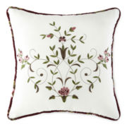 Home Expressions™ Amber Rose Square Decorative Pillow