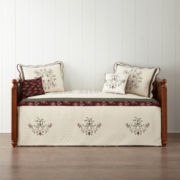 Home Expressions™ Amber Rose Daybed Cover & Accessories
