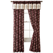 Home Expressions™ Amber Rose Curtain Panel Pair