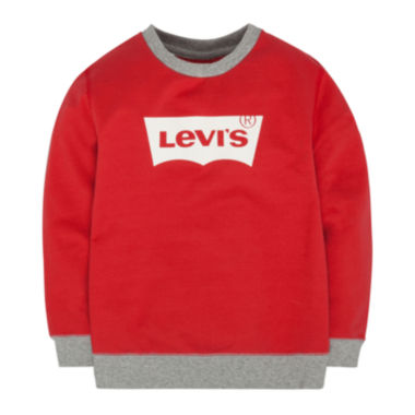 jcpenney.com | Levi's® French Terry Pullover Top - Boys 8-20