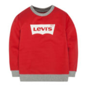 Levi's® French Terry Pullover Top - Boys 8-20