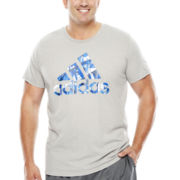 adidas® Ice Logo Tee-Big & Tall