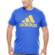 adidas® Adilogo Chops Graphic Tee - Big & Tall