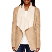 by&by Faux-Shearling Jacket