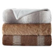 Luxury Faux-Fur Throw