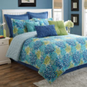 Fiesta Calypso Starburst Reversible Comforter Set
