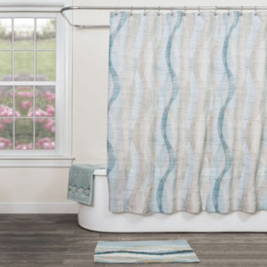 jcpenney.com | Sketchbook Waves Bath Collection