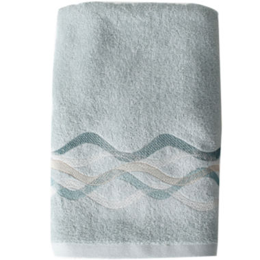 jcpenney.com | Sketchbook Waves Bath Towel