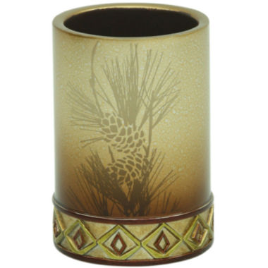 jcpenney.com | Bacova Pinecone Silhouette Tumbler