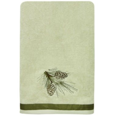 jcpenney.com | Bacova Pinecone Silhouette Bath Towel