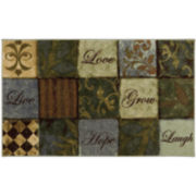 Mohawk Home® Les Fleurs Rectangular Rug