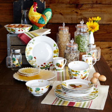 jcpenney.com | Pfaltzgraff® Rooster Meadow Dinnerware Collection