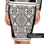 nicole by Nicole Miller® Intarsia Skirt