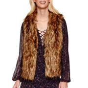 BELLE + SKY™ Faux-Fur Vest