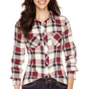 Levi's® Long-Sleeve Snap-Front Plaid Shirt