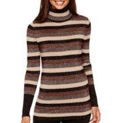 Worthington® Long-Sleeve Turtleneck Sweater
