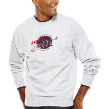 jcpenney.com | MCcc Sportswear® Embroidered Fleece Crewneck