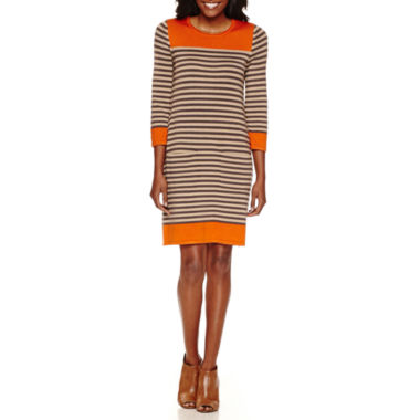 jcpenney.com | Jessica Howard 3/4 Sleeve Sweater Dress with Pockets