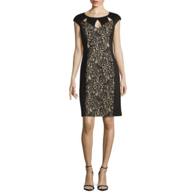 jcpenney.com | Ronni Nicole Lace Sheath Dress