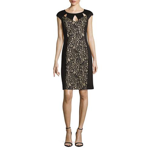 Ronni Nicole Lace Sheath Dress