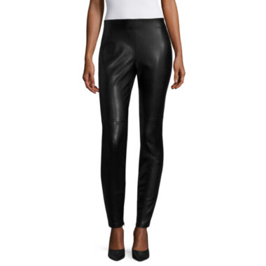 jcpenney.com | a.n.a Solid Woven Leggings Talls