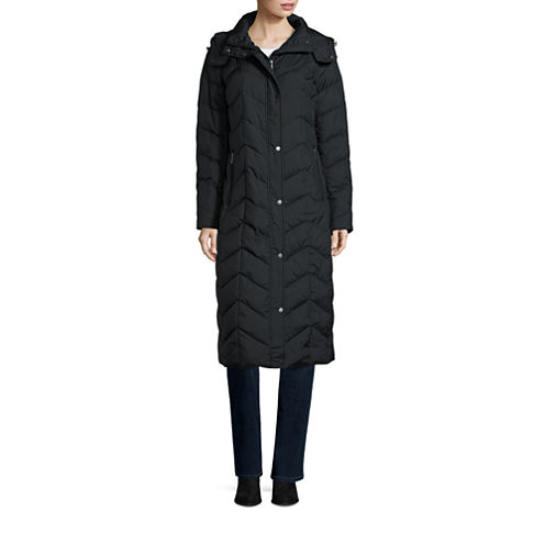 St. John's Bay® Commuter Down Jacket - Tall