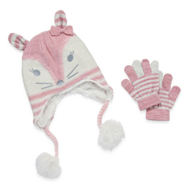 jcpenney.com | Okie Dokie Girls Cold Weather Set-Preschool