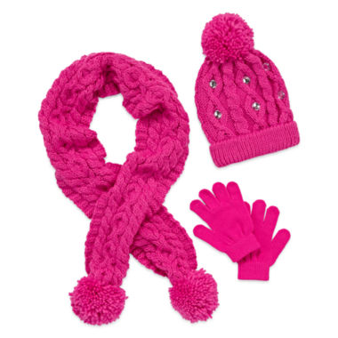 jcpenney.com | Total Girl Girls Cold Weather Set-Big Kid