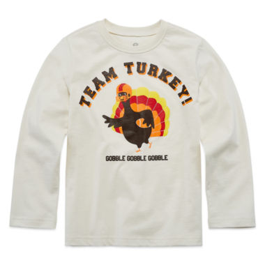 jcpenney.com | Okie Dokie Boys Thanksgiving Graphic T-Shirt-Preschool