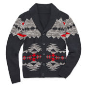 Arizona V-Neck Cardigan Sweater- Boys 8-20